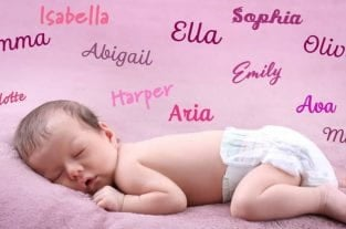 Baby Girl Names - Cute and Unique Names For Girls