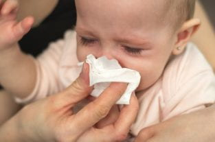 Blocked Nose And Colds In Babies - Causes And Treatment