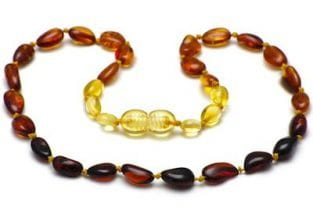 Amber Teething Necklace - A Natural Teething Alternative