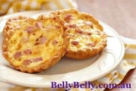 Mini Quiche Recipe - Easy Mini Quiche Recipe