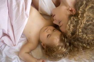 Sleeping With Baby - Safe Co-Sleeping Tips
