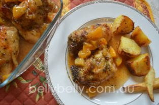 Apricot Chicken - A Delicious Apricot Chicken Recipe