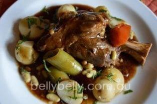 Lamb Shanks - Irish Style Braised Lamb Shanks Recipe