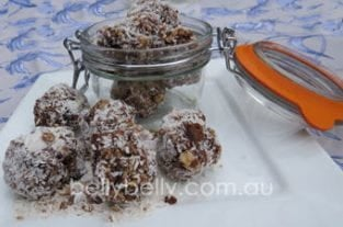 Coconut Kisses Recipe - A Healthy Lunchbox Or Coffee Morning Snack