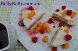 Cheesecake Recipe - Dame Nellie's No Bake Cheesecake Recipe