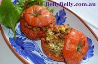 Stuffed Tomatoes Recipe - Turkey Stuffed Tomatoes