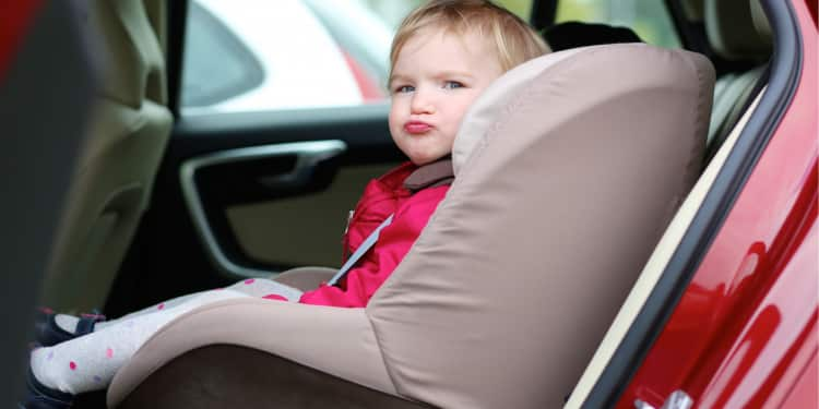 baby hates the car seat