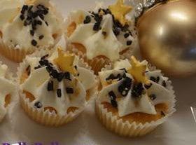 Christmas Cupcakes – Starry Christmas Cupcakes
