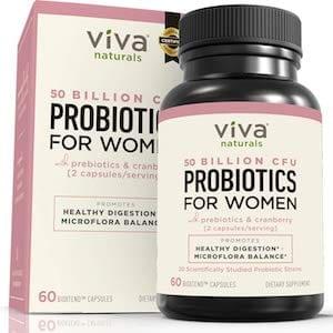 Viva Naturals Probiotic For Thrush
