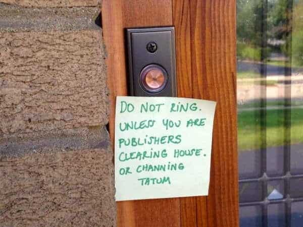 Doorbell Notes: 10 Hilarious Notes From Tired Parents