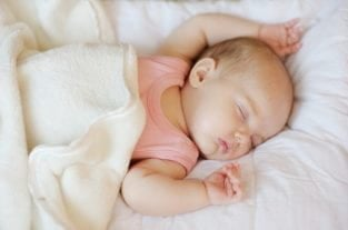 ADORABLE! Mother Captures Sleeping Baby On Camera