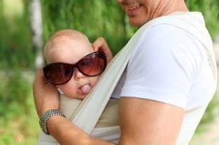 4 Babywearing Safety Tips - Keeping Baby Visible and Kissable!