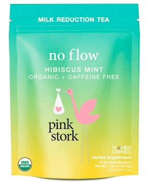 sage tea to dry up breast milk