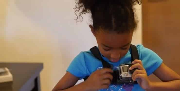 A GoPro + First Day Of Kindergarten = Gorgeous [VIDEO]