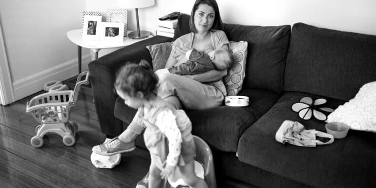 Photo Project Captures The Reality Of Breastfeeding