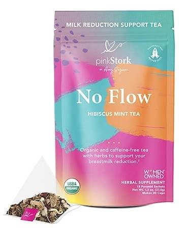 Pink Stork No Flow tea