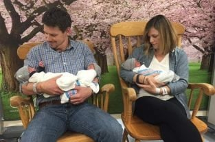 Couple Welcomes Rare Set Of Identical Triplet Boys