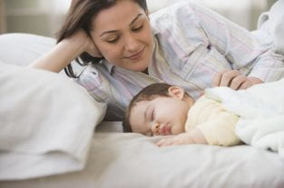How Sleeping With Your Baby Boosts Breastfeeding
