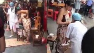 Woman Gives Birth On Street While Shopping