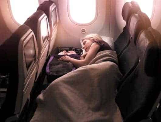 Airline Offers New Seating Option To Make Long-Haul Flights with Babies and Children Easier