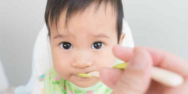 when can baby eat cooked rice