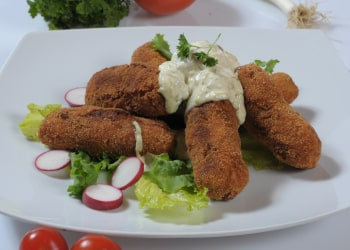 sausage sweet potato croquettes
