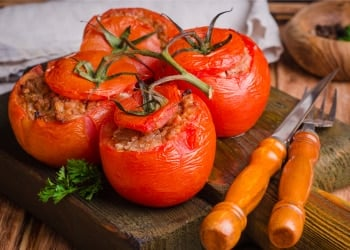 turkey stuffed tomatoes recipe